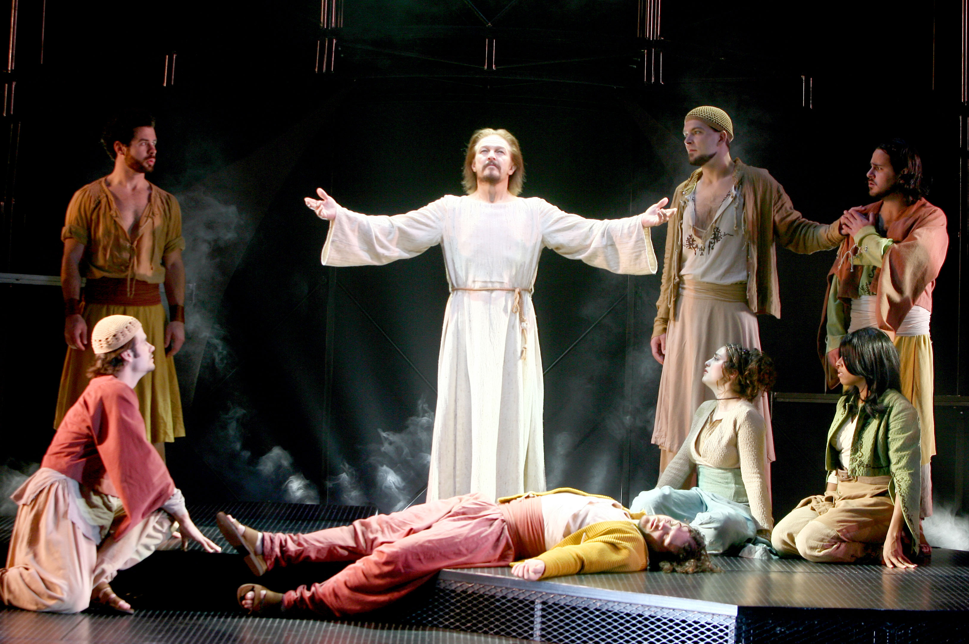 """""""Trial Before Pilate (Including the Thirty-Nine Lashes)"""" – Pilate, Caiaphas, Annas, Jesus, Ensemble """"Superstar"""" – Judas, Soul Sisters, Angels """""""