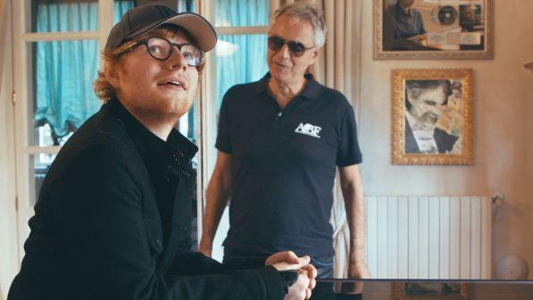 """Ed Sheeran: esce """"Perfect Symphony"""" , il duetto con Andrea Bocelli"""